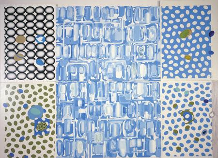 Luis Gordillo. Mondrian inspira, Mondrian expira, 1997. © Luis Gordillo, VEGAP, Santiago de Compostela, 2017
