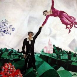 Chagall en los años diez: un mundo nuevo