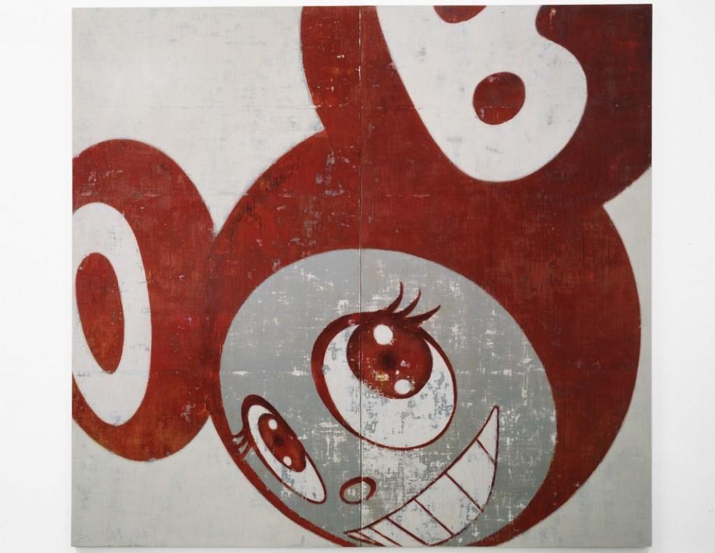 Takashi Murakami. And Then, And Then And Then And Then And Then (Red), 1996–1997. © 1996–97 Takashi Murakami/Kaikai Kiki Co., Ltd