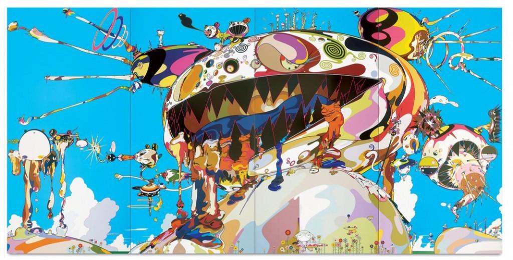 Takashi Murakami. Tan Tan Bo Puking - a.k.a. Gero Tan, 2002. Galerie Perrotin. © 2002 Takashi Murakami/Kaikai Kiki Co., Ltd