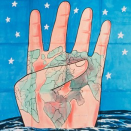 Francesco Clemente. Inspired by India