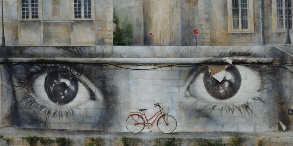 Desplazamientos. Arte Urbano por Coro López-Izquierdo