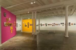 "Imagen de sala de la exposición ""Total Records"" © Gala Font de Mora"