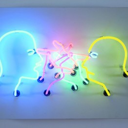 Bruce Nauman. Double poke in the eye