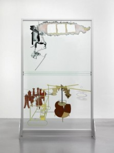 Marcel Duchamp. The Bride Stripped Bare by Her Bachelors, Even (The Large Glass), 1915–1923 (reconstrucción de Richard Hamilton, 1965-1966)