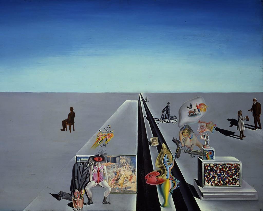 Salvador Dalí. Les premiers jours du printemps (The First Days of Spring), 1929