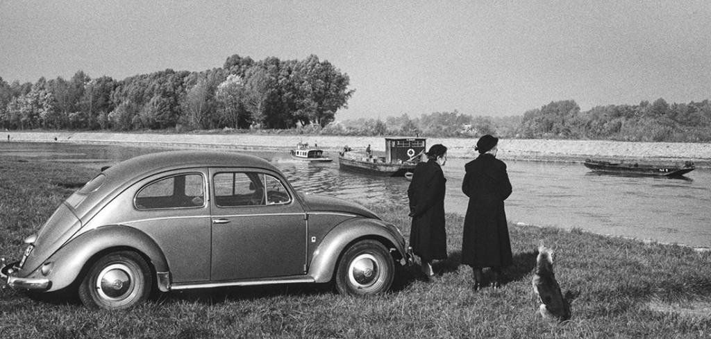 Inge Morath. Danubio. Paisaje cerca de Viena. 1958 © Inge Morath Foundation. Magnum Photos.