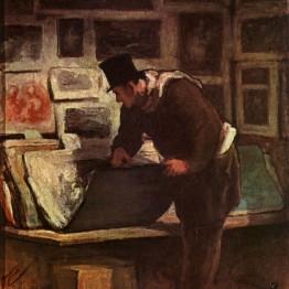 Honoré Daumier. El coleccionista de estampas