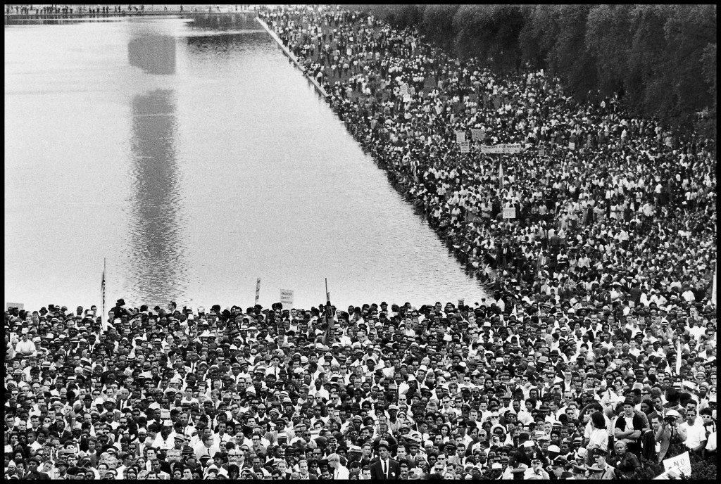 Bruce Davidson. Marcha sobre Washington,Washington, D. C., 1963. © Bruce Davidson / Magnum Photos