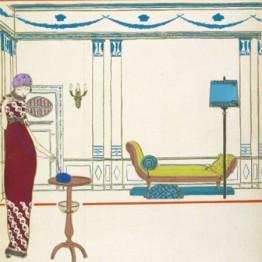 Georges Lepape. Los vestidos de Paul Poiret vistos por Georges Lepape, 1911