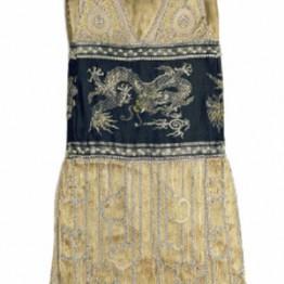 Jeanne Paquin. Vestido de noche Chimère, 1925