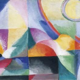 onia Delaunay. Prismas eléctricos nº 41, 1913-1914. Musée d´ Art Moderne de la Ville de París