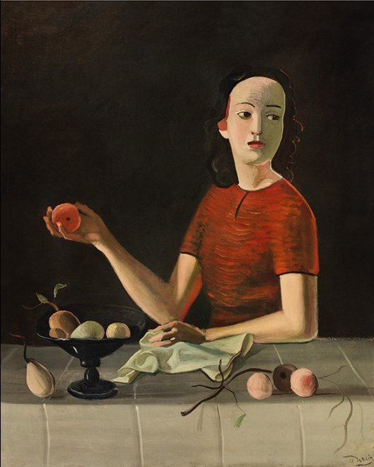 André Derain. Geneviève à la pomme, 1937-1938. Foto: © Thomas Hennocque  © André Derain, VEGAP, Madrid, 2018