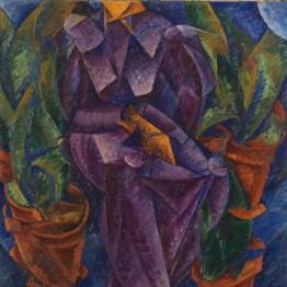 Umberto Boccioni. Costruzione spiralica, 1913. Museo del Novecento, Milán