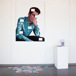 Javier Martínez García, ganador de la novena beca DKV Fresh Art