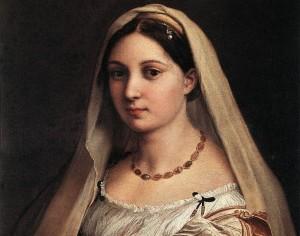 Rafael. La donna velata, 1516