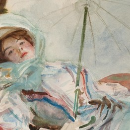 Sargent. The lady with the umbrella, 2011