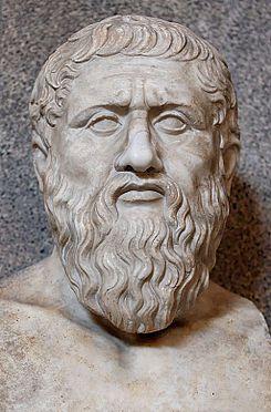 Busto de Platón, s IV d.C