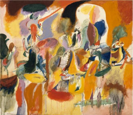 Arshile Gorky. Agua del molino de las flores (Water of the Flowery Mill), 1944 © ARS, NY and DACS, London 2016. Foto © 2016. Imagen © The Metropolitan Museum of Art/Art Resource/Scala, Florencia
