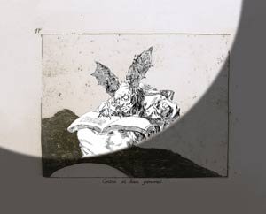 Farideh Lashai. Las obras de la artista iraní en diálogo con los Desastres de la guerra de Goya en el Museo del Prado