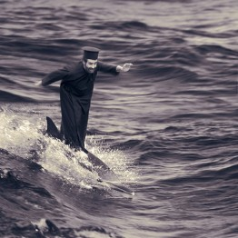 Joan Fontcuberta. The Miracle of Dolphin-Surfing, 2002