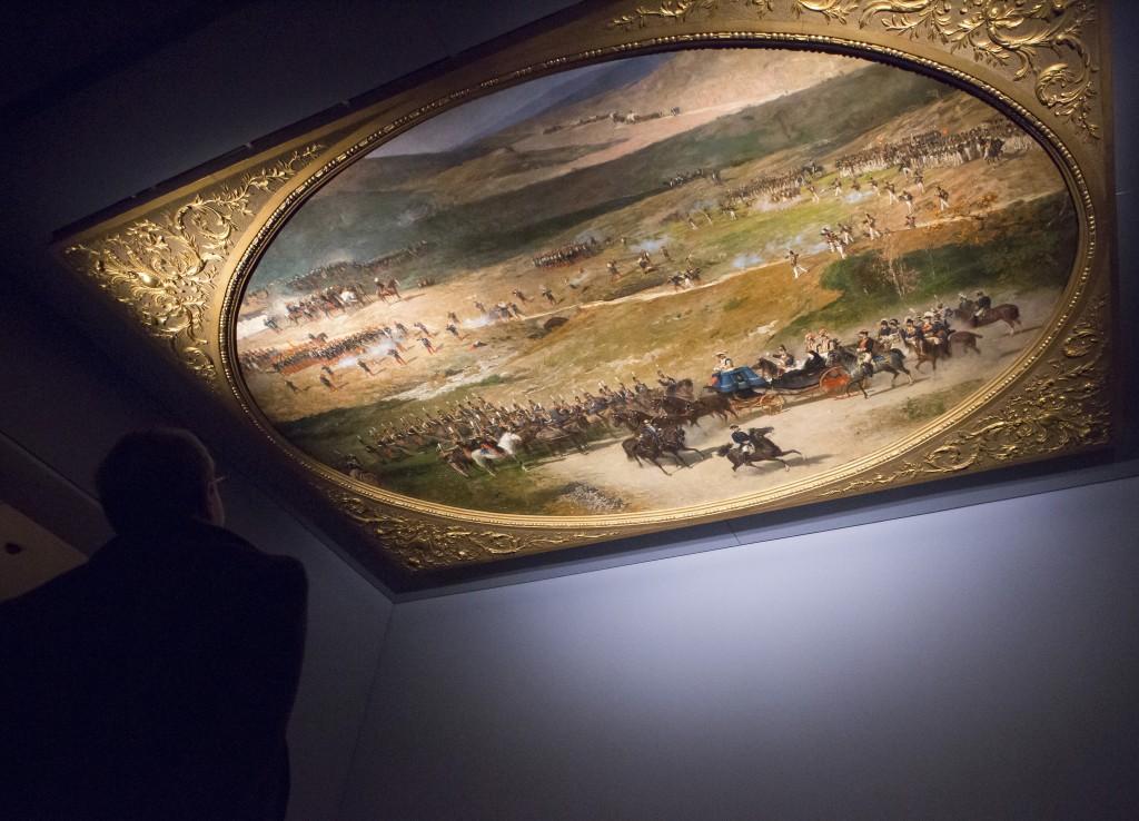 """Imagen de las salas de la exposición """"Fortuny (1838-1874). Foto © Museo Nacional del Prado"""