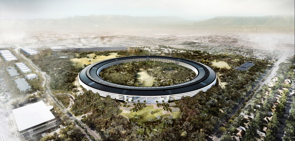 Norman Foster. Apple Park (2010-2017) © Foster+Partners