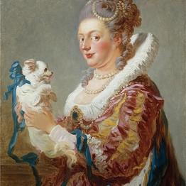 Jean Honoré Fragonard. Woman with a Dog, c. 1769. The Metropolitan Museum of Art