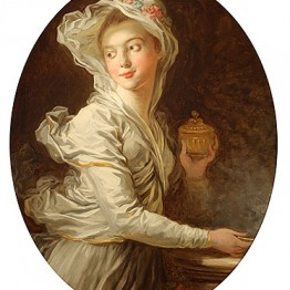 Jean Honoré Fragonard. The Vestal, c. 1769–1771. Colección privada