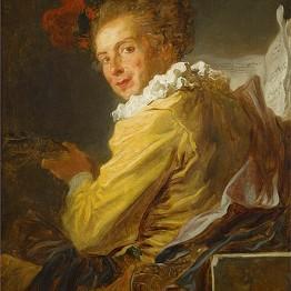 Jean Honoré Fragonard. M. de La Bretèche, c. 1769. Musée du Louvre