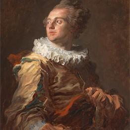 Jean Honoré Fragonard. The Actor, c. 1769. Colección privada