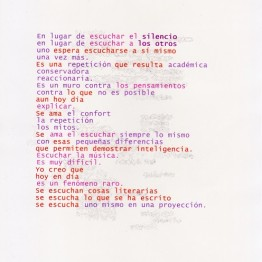 José Iges, sonidos visibles