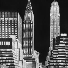 Vera Lutter. Chrysler Building, V: July 12,2014, 2014