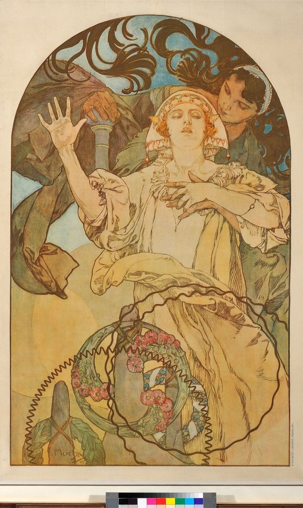 Alphonse Mucha. De Forest Phonofilm, Bio Adria, 1927. ©Mucha Trust