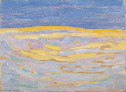 Piet Mondrian. Dune I, 1909