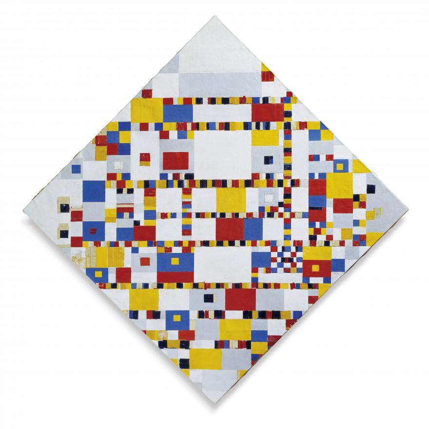 Piet Mondrian. Victory Boogie Woogie, 1942-1944