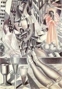 Maruja Mallo. Estampa cinética, 1927. Galería Guillermo de Osma