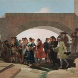 Francisco de Goya. La boda, 1792. Madrid, Museo Nacional del Prado