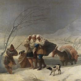 Francisco de Goya. La nevada, o El Invierno, 1786. Madrid, Museo Nacional del Prado