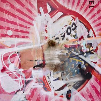 Albert Oehlen. Sin título, 2016. Colección Pinault