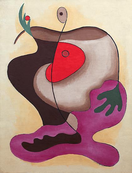 Rita Kernn-Larsen. The Apple, 1934. Kunsten Museum of Modern Art, Aalborg