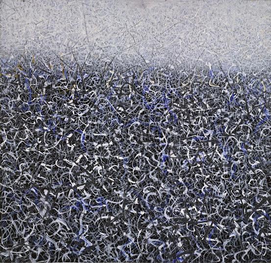 Mark Tobey. Campo selvático, 1959. MoMA