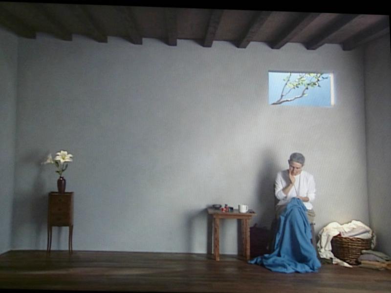 Bill Viola. La habitación de Catalina, 2001. Cortesía de Bill Viola Studio © Bill Viola Foto: Kira Perov