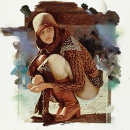 Richard Hamilton. Girl with skirt up, 1972. Colección particular