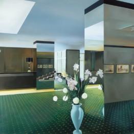 Richard Hamilton. Lobby, 1985-1987. Colección particular