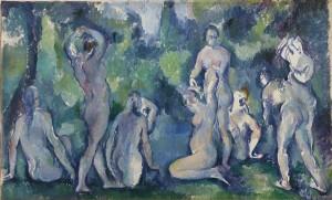 Paul Cézanne. Baigneuses, hacia 1895. © Ordrupgaard, Copenhague