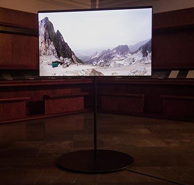 Clara Montoya. Revolución-Carrara. Obra realizada durante su beca en la Academia de España en Roma