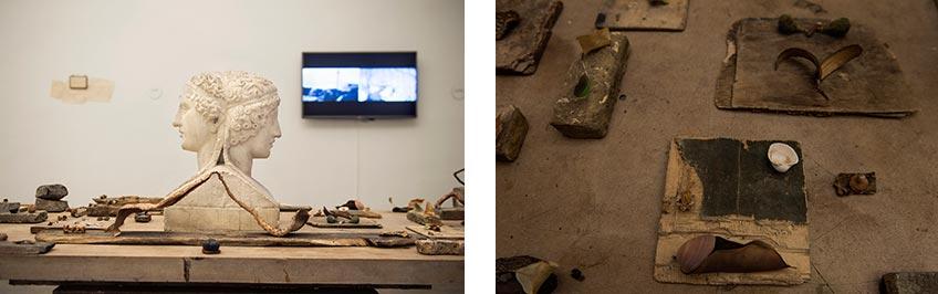 Juan Zamora. Montorio, de la exposición Hecho en Roma en la Academia de Bellas Artes de San Fernando de Madrid