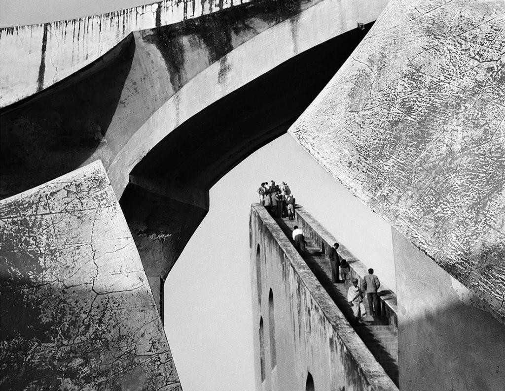 Lucien Hervé. Observatoire, Delhi, Inde, 1955