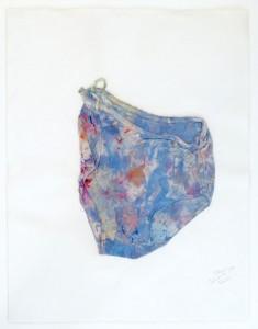 Hessie. Slip de Dado, 1970. Cortesí a   de  Galerie  Arnaud  Lefebvre